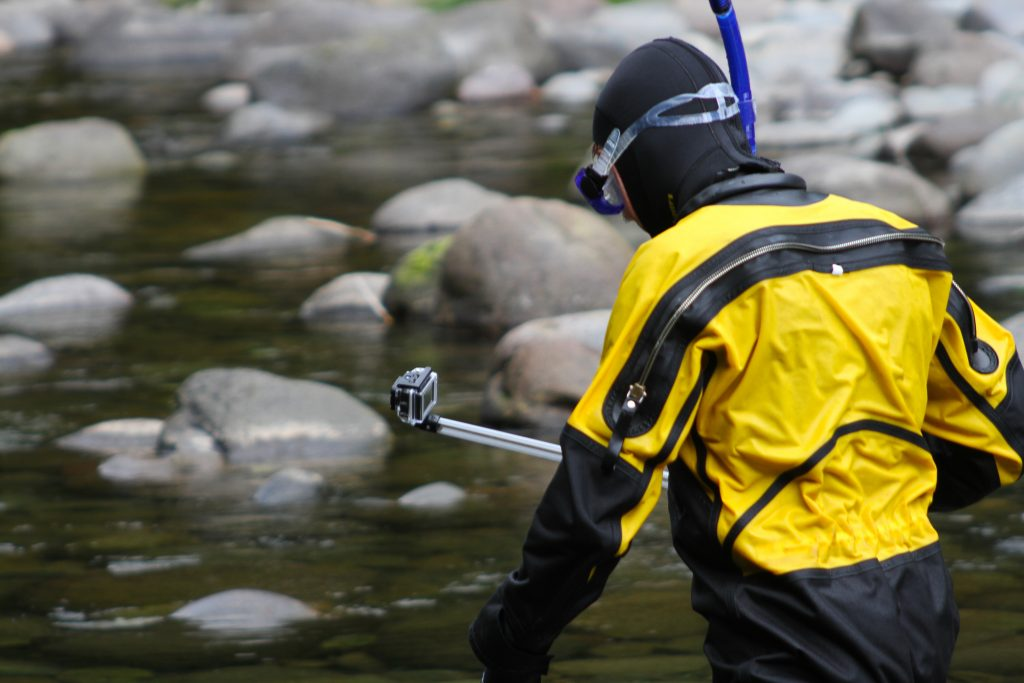 SZIP Watertight zippers for dry suits