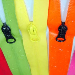 Nylon TPU film waterproof zippers