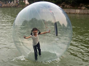 water balls with gasproof zippers