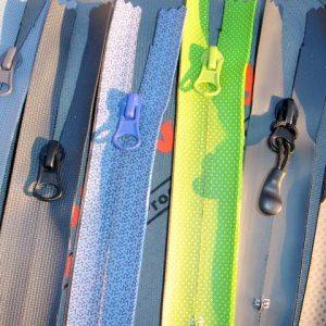 Printing waterproof zippers