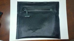 light duty 100% airtight zipper swimming pouch
