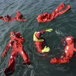 survival suits Immersion suits with heavy duty metal dry zippers