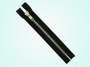 Nomex metal flame resistant zippers