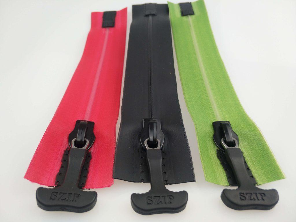 szip 100% waterproof zippers